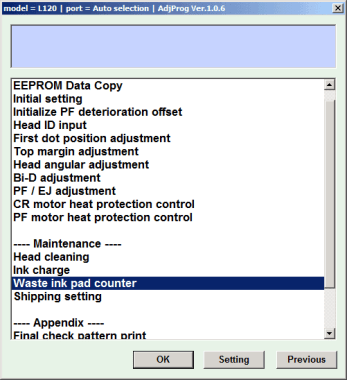 Masalah umum printer l120