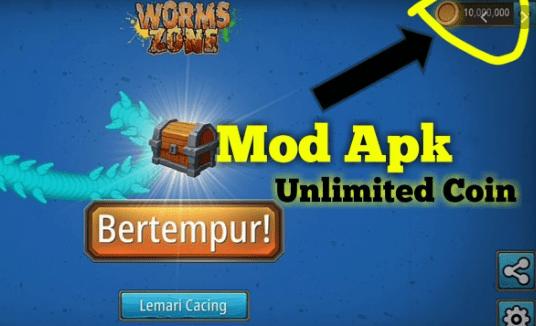 worm zone mod apk