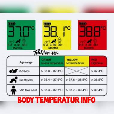 Body Temperatur info