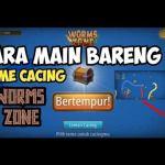 Cara main bareng (Mabar) Bersama teman di game Worms zone Android