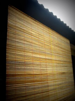 bamboo curtain shading