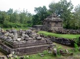 The ruins of the temple ijo, one of the ancient kingdom of mataram