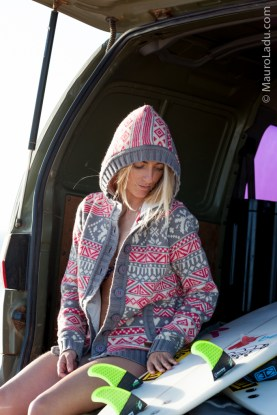 Tehillah McGuinness South African Born Pro Surfer and Sports Model - Lifestyle Shooting with Mauro Ladu in Fuerteventura
