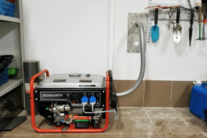 Подключение бензинового генератора