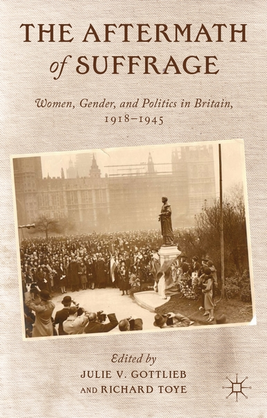 Aftermath of Suffrage cover (Palgrave Macmillan)