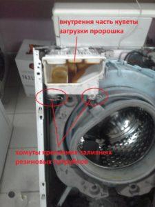 Кювета стиральной Бош