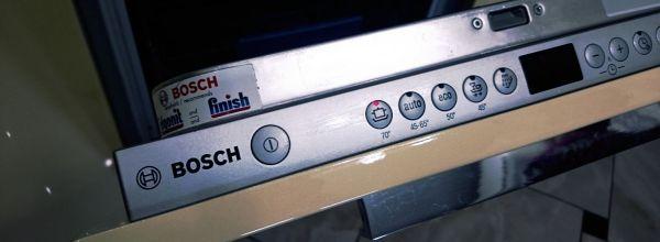 Ошибки посудомоечных машин Bosch