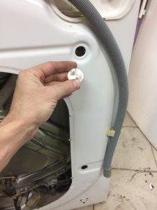Заглушка для стиральной машины