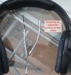 sennheiser hd 201 headphones cable repair 01 [ 1280 x 720 Pixel ]