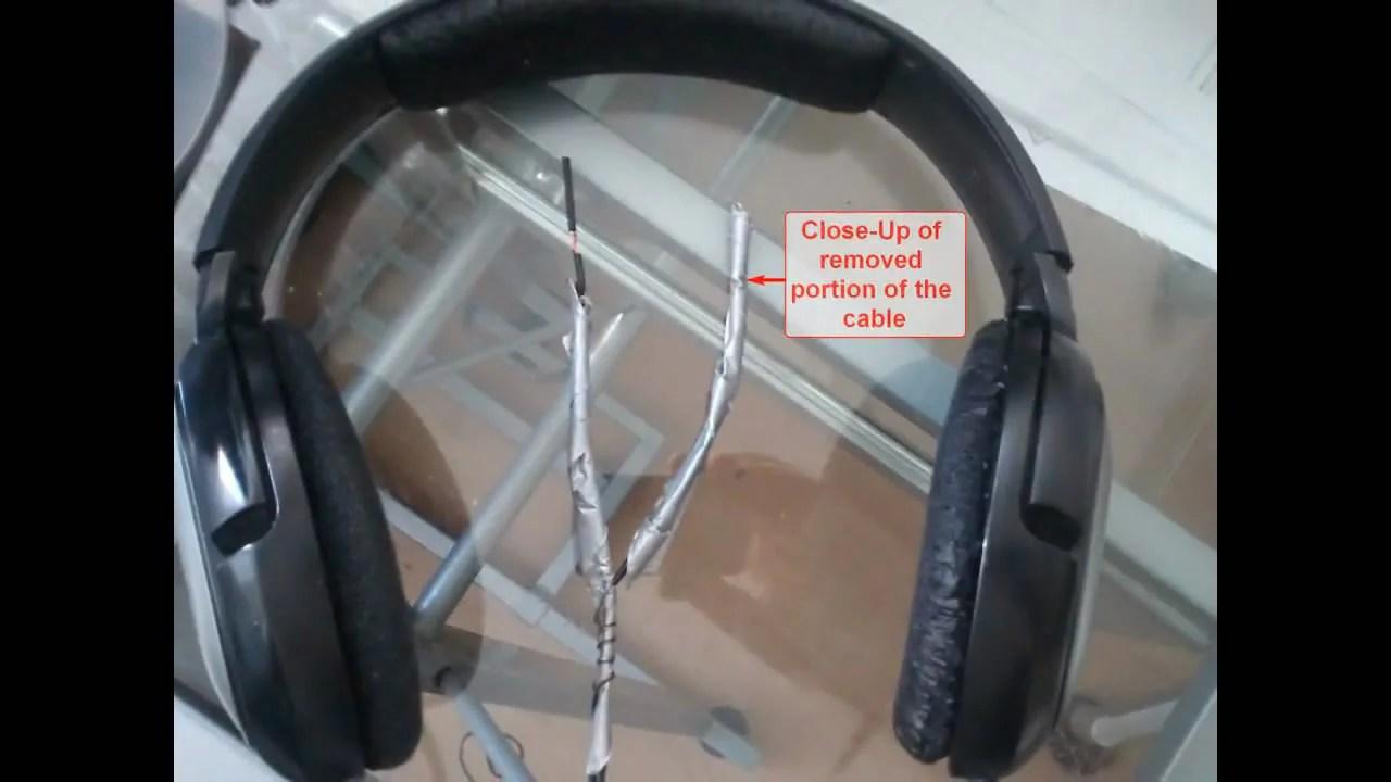 hight resolution of sennheiser hd 201 headphones cable repair 01