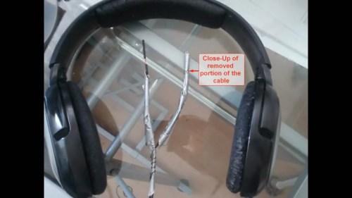 small resolution of sennheiser hd 201 headphones cable repair 01