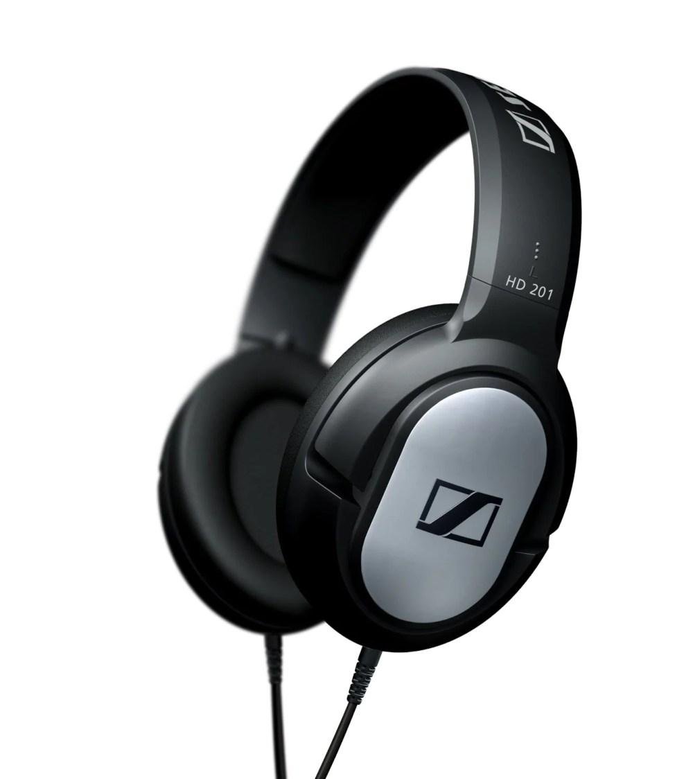 medium resolution of sennheiser hd 201 headphones