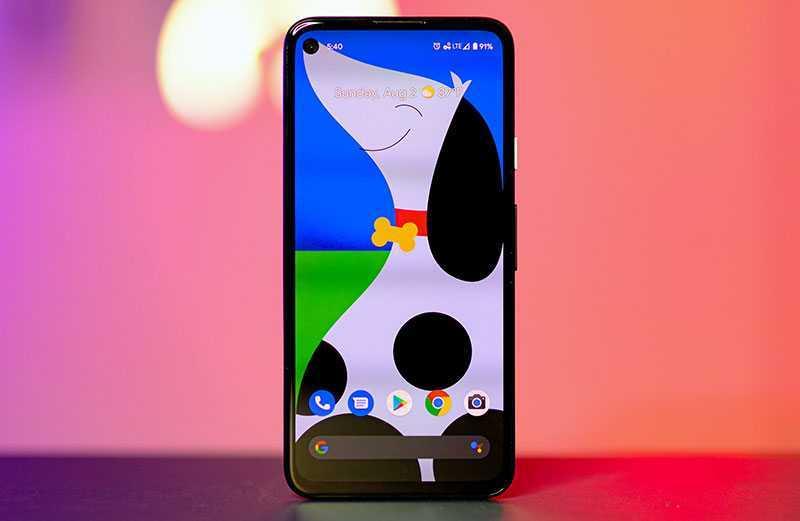 Google Pixel 4a обзор