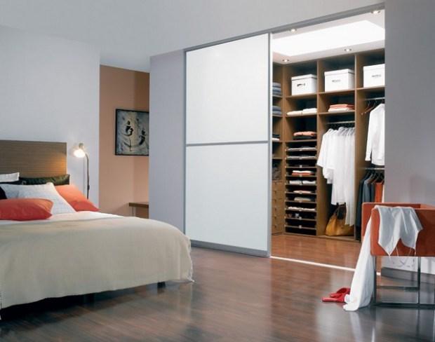 Дизайн гардеробной комнаты