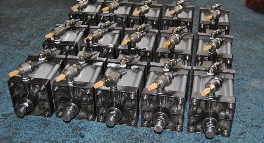 Производство на пневматски цилиндри по нарачка