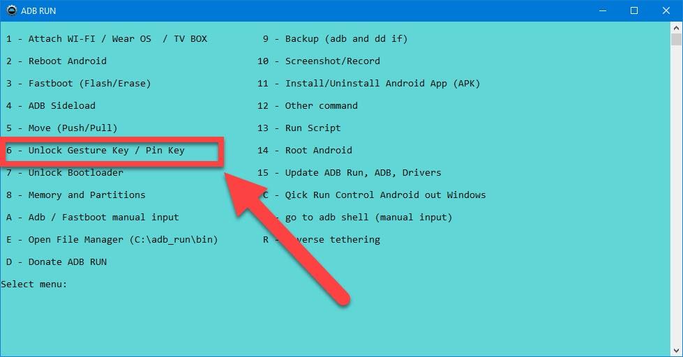 Andere Telefone mit einem entsperrten Bootloader, die mit dem Fastboot-Dienstprogramm geflasht werden.