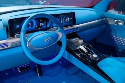 Hyundai FE fuel cell koncept.