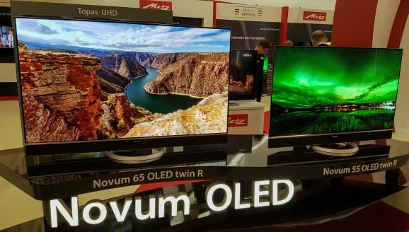 Tudi manj znani proizvajalci se hvalijo z modeli OLED.