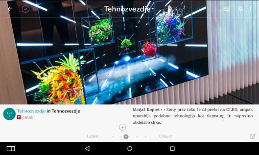 Naši članki so tudi v aplikaciji flipboard.