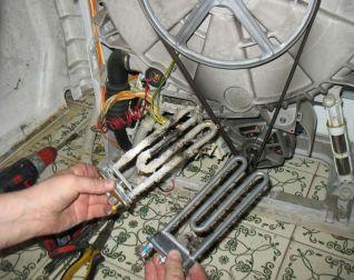 Замена ТЭНа в стиральной машине Одесса