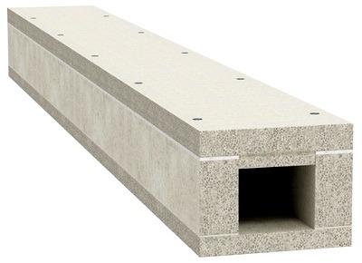 Kabel-kanal legkii beton
