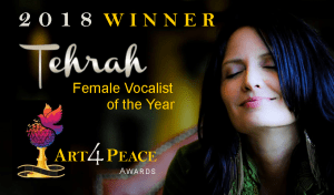Tehrah is an award-winning singer/songwriter and power vocalist singing gospel, country & rock. She is known as The Goddess Voice. She has found freedom and an escape in music. Her singing takes her away and feeds her soul (and all those around her).