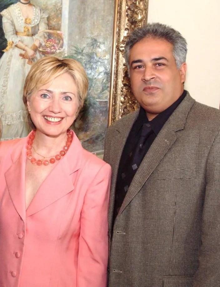 hillary clintonn & Shahbod Noori