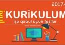 Yeni Kurikulum İyul. 2017/18