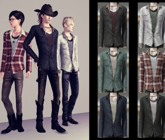 The Sims  Male Clothes Mods