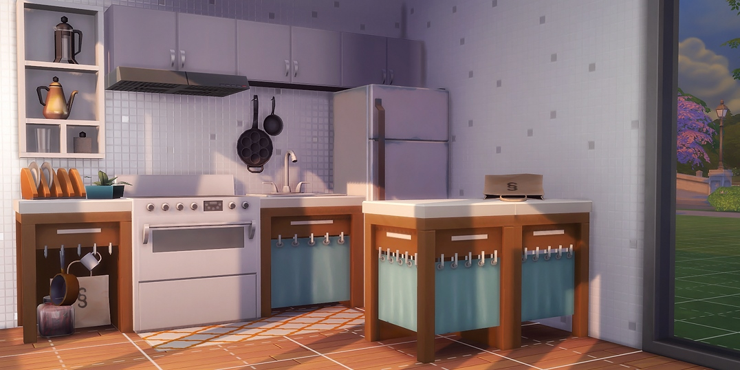 HandMeDown Counters by servobride  Teh Sims