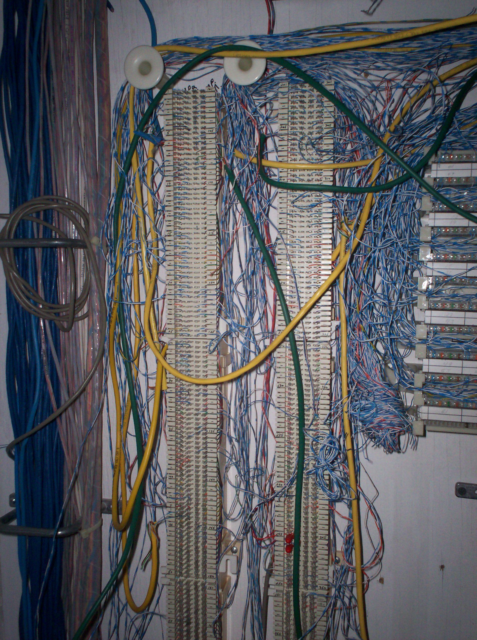 Punch Down Block Wiring Diagram Older