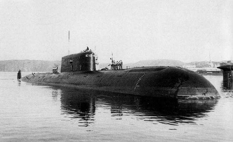 """Подводная лодка К-278 """"Комсомолец"""""""