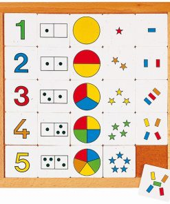 Counting diagram 1 to 5 - Educo