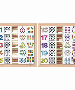 Counting diagram 11 to 15 + 16 to 20 - Educo