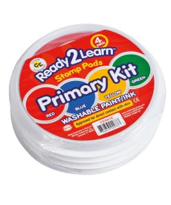 Jumbo washable paint/ink stamp pad: primary kit - Arts & Crafts