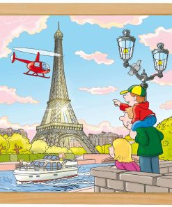 European cities puzzle: Paris - Educo