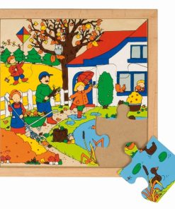 Seasons puzzle 1 - autumn - Educo