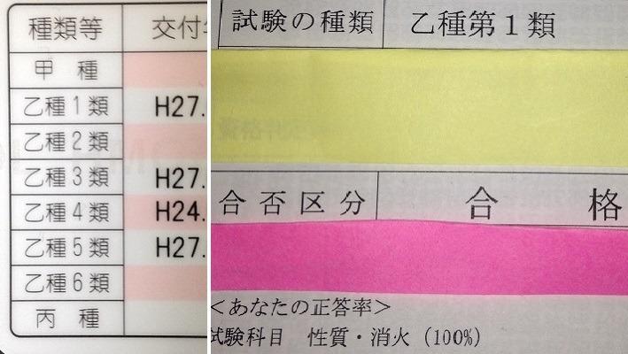 者 取扱 4 物 危険 乙