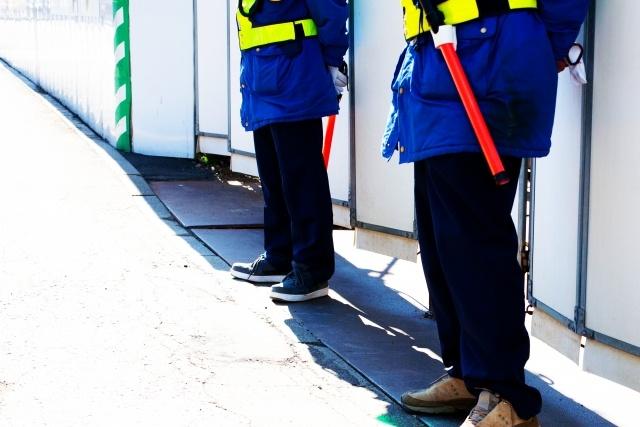 施設警備員。基本的に屋外で仕事をすることは少ない。
