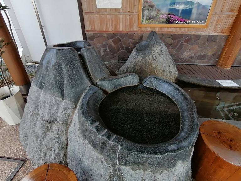 鹿児島空港足湯⑨