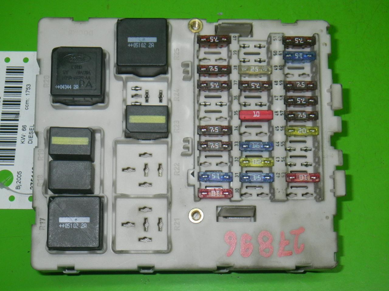 hight resolution of fuse box ford transit connect p65 p70 p80