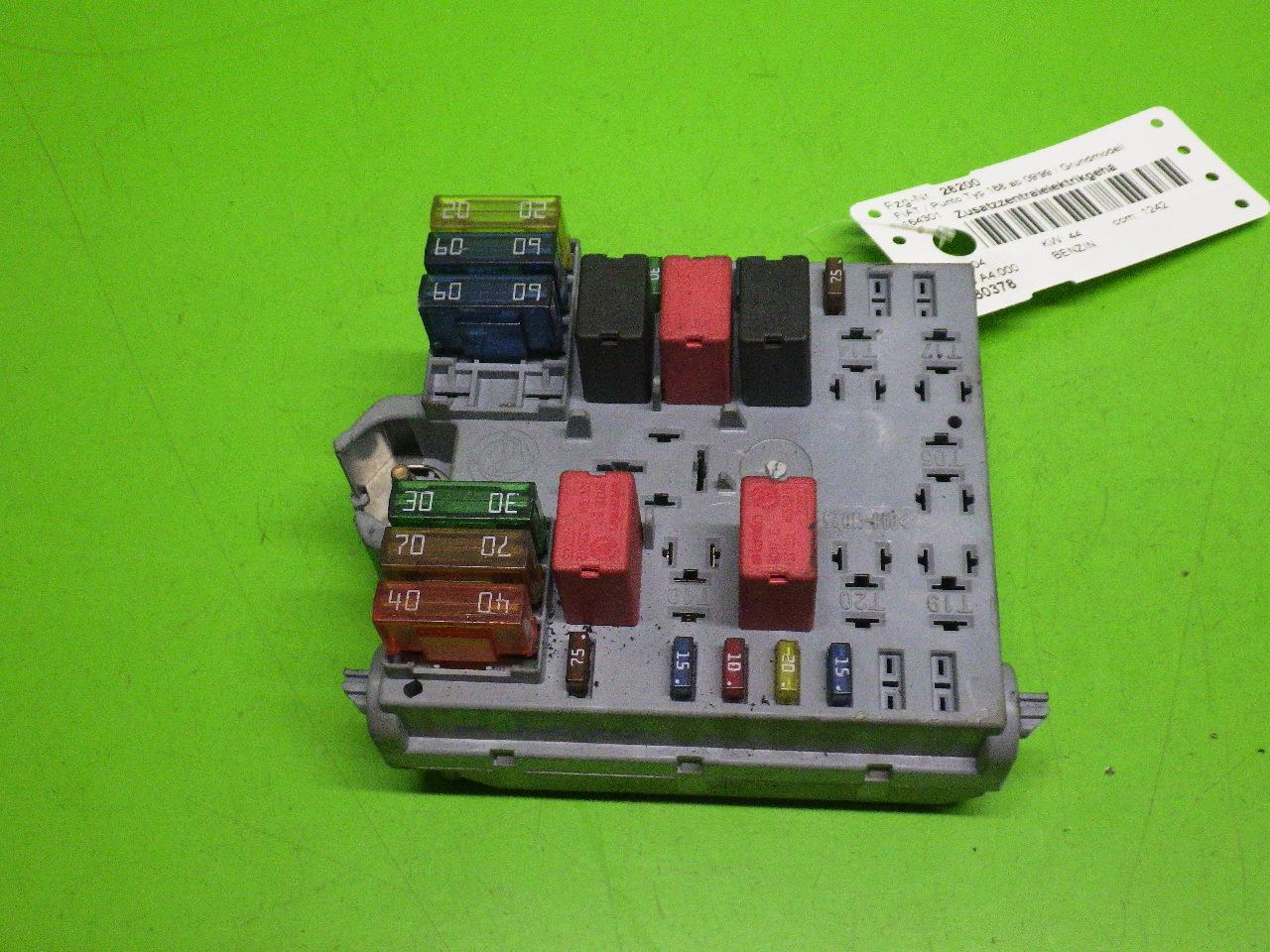 hight resolution of fuse box fiat punto 188