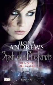 """Cover """"Stadt der Finsternis 1 - Die Nacht der Magie"""" © Egmont LYX"""