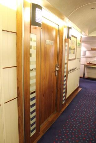 Zimmertür Luxuskabine King Seaways DFDS