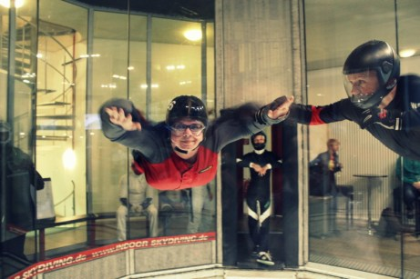 Indoor Skydiving Erfahrung