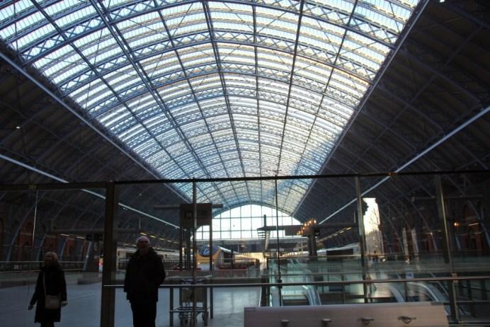 Pancras Bahnhof