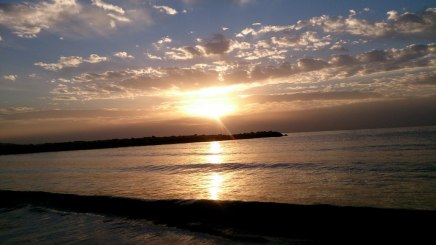 Zypern Sonnenaufgang