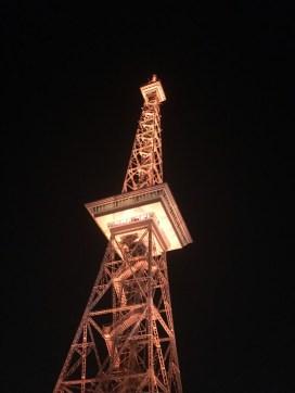 Der Funkturm im Zentrum der Messe