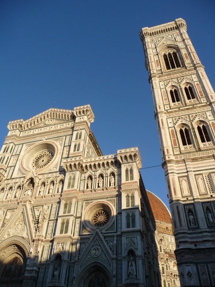 Die Kathedrale von Florenz mit Glockenturm