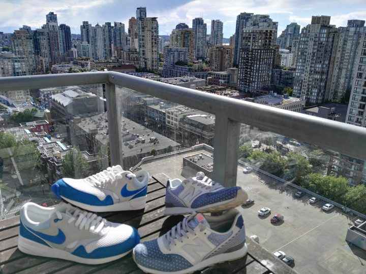 New Shoes in Vancouver